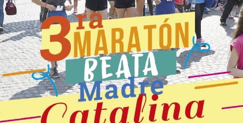 Maratón Beata Catalina: llega la tercera edición de una cita deportiva y solidaria