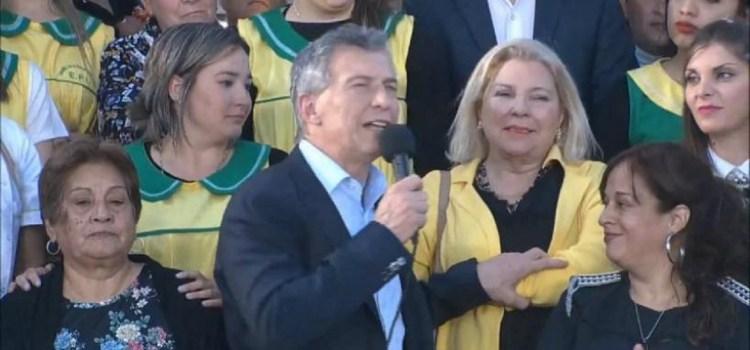 Macri y Carrió estuvieron en Tafí Viejo