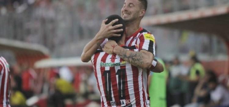 San Martín jugó bien y le ganó 3 a 0 a Rafaela