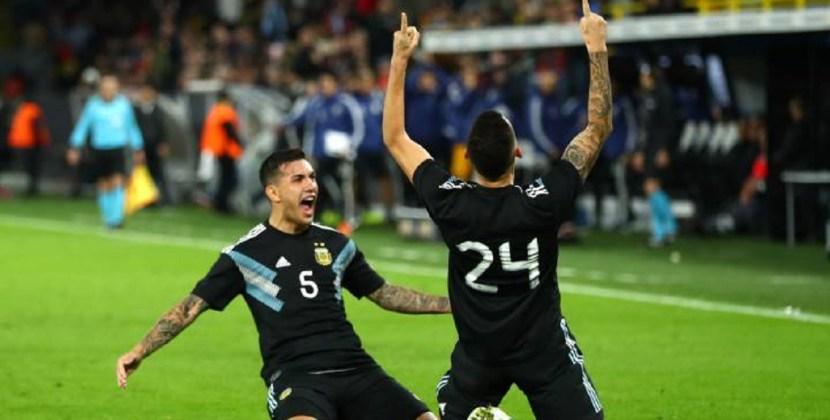 Argentina perdía 2-0 con Alemania pero lo empató sobre la hora en Dortmund