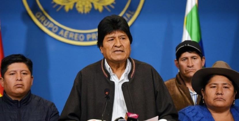 Evo Morales y Garcia Linera renunciaron a la presidencia y vice de Bolivia
