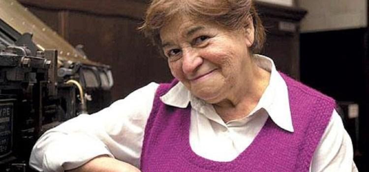 Falleció la actriz y maestra de actores Rosita Ávila