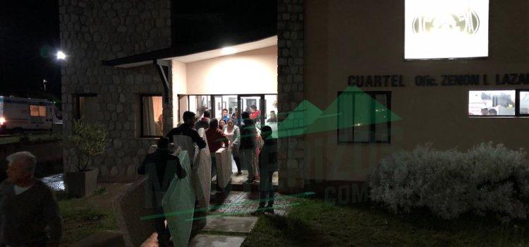 Asistieron a cerca de 350 personas por el corte de la 307