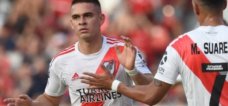 River derrotó a Independiente en Avellaneda y se subió a la cima de la Superliga