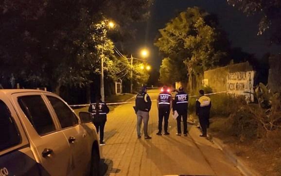 Quedó detenido uno de los presuntos asesinos de un motociclista en San José