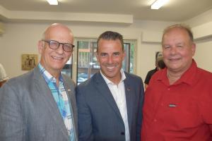 Simon Bégin, Stéphane Billette et Guy Duval