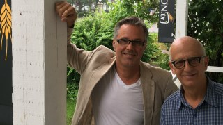 Yannick Patelli et Simon Bégin