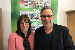 Marie-Eve Proulx et Yannick Patelli