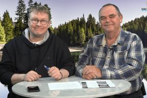 Eric Bernard et Claude Roy