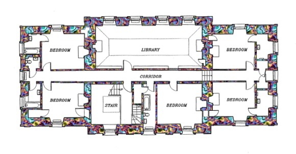 16 Auchinleck House Landmark Trust copyright lvbmag.com