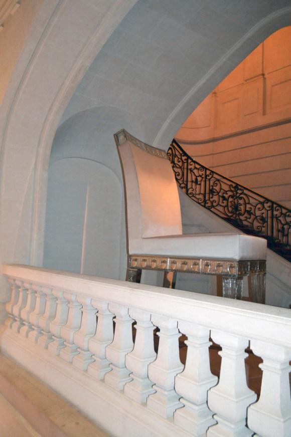 Cristal Room Baccarat Staircase © Stuart Blakley lvbmag.com