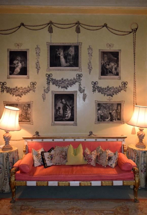 Marlfield House The Print Room © Lavender's Blue Stuart Blakley