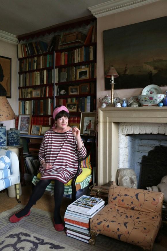 Min Hogg The World of Interiors Founder © Lavender's Blue Stuart Blakley