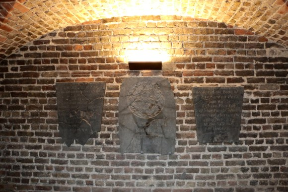 Christ Church Spitalfields Crypt Plaques © Lavender's Blue Stuart Blakley