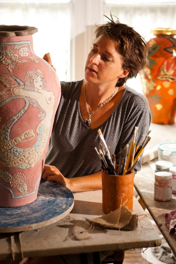 Lucinda Mudge Contemporary South African Artist @ Lavender's Blue