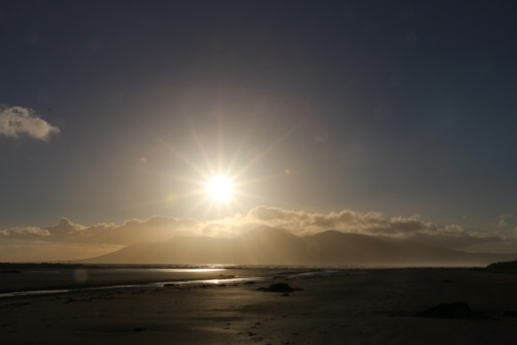 Tyrella Beach Sunset © Lavender's Blue Stuart Blakley
