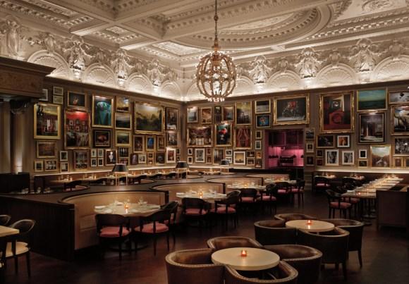 The London Edition Hotel Berners Tavern © Lavender's Blue Stuart Blakley