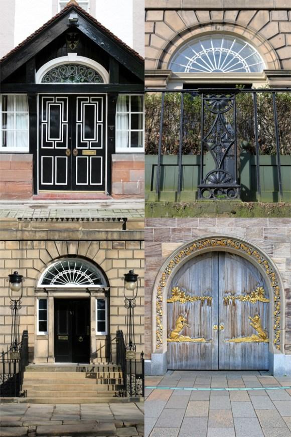 Edinburgh Doors © Lavender's Blue Stuart Blakley