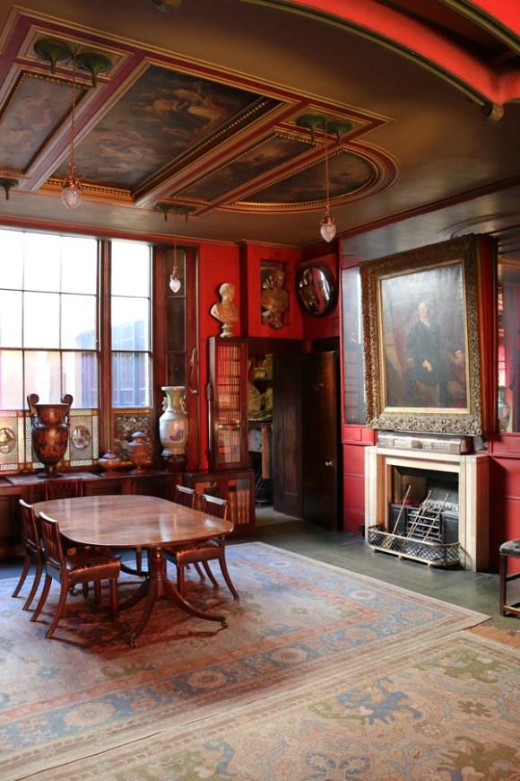 Sir John Soane Museum Dining Room © Lavender's Blue Stuart Blakley