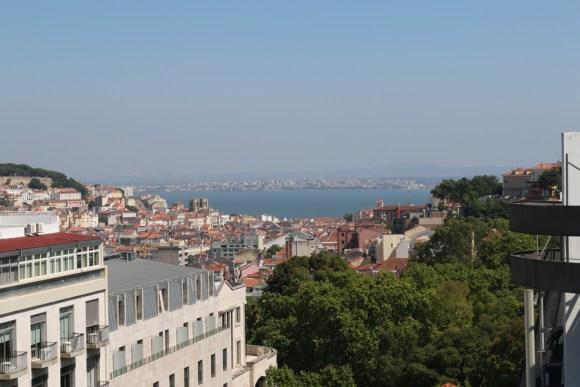 Altis Grand Hotel Lisbon Roof Terrace View © Lavender's Blue Stuart Blakley