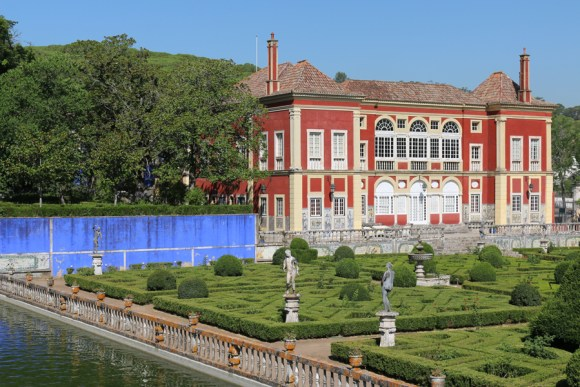 Fronteira Palace and Lake Lisbon © Lavender's Blue Stuart Blakley