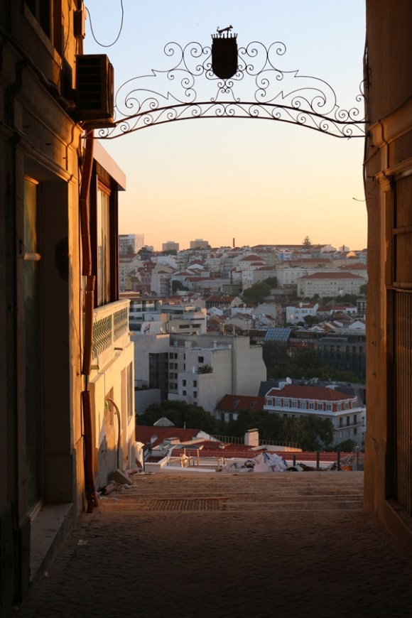 Lisbon Sunrise © Lavender's Blue Stuart Blakley