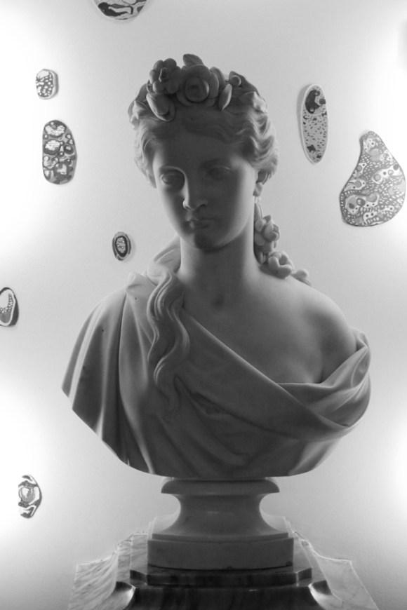 Medeiros e Almeida House Museum Lisbon Bust © Lavender's Blue Stuart Blakley