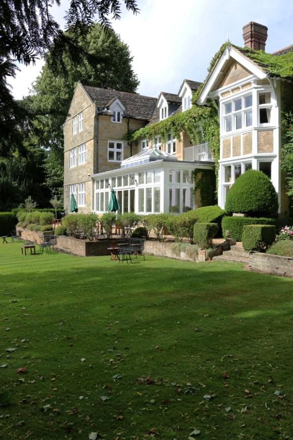 Ockenden Manor Garden Front © Lavender's Blue Stuart Blakley