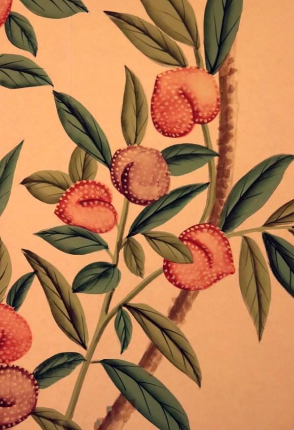 Pitzhanger Manor Party Chinoiserie Wallpaper © Lavender's Blue Stuart Blakley