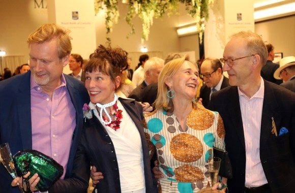 Charles Plante Rory O'Donnell and Friends Masterpiece Private View 2019 © Lavender's Blue Stuart Blakley