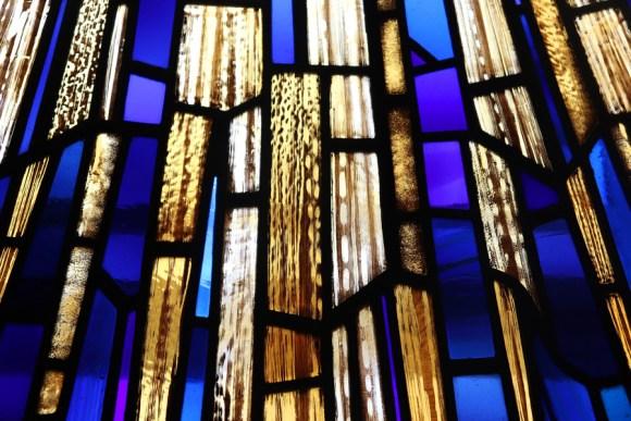 Freemason's Hall Stained Glass Africa Fashion Week London © Lavender's Blue Stuart Blakl