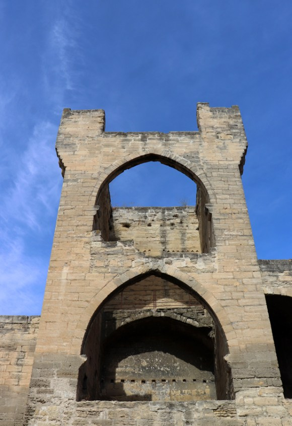 City Walls Avignon © Lavender's Blue Stuart Blakley