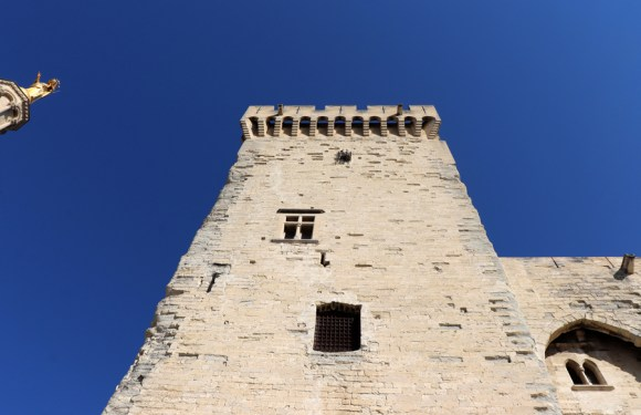 Papal Palace Tower Avignon © Lavender's Blue Stuart Blakley