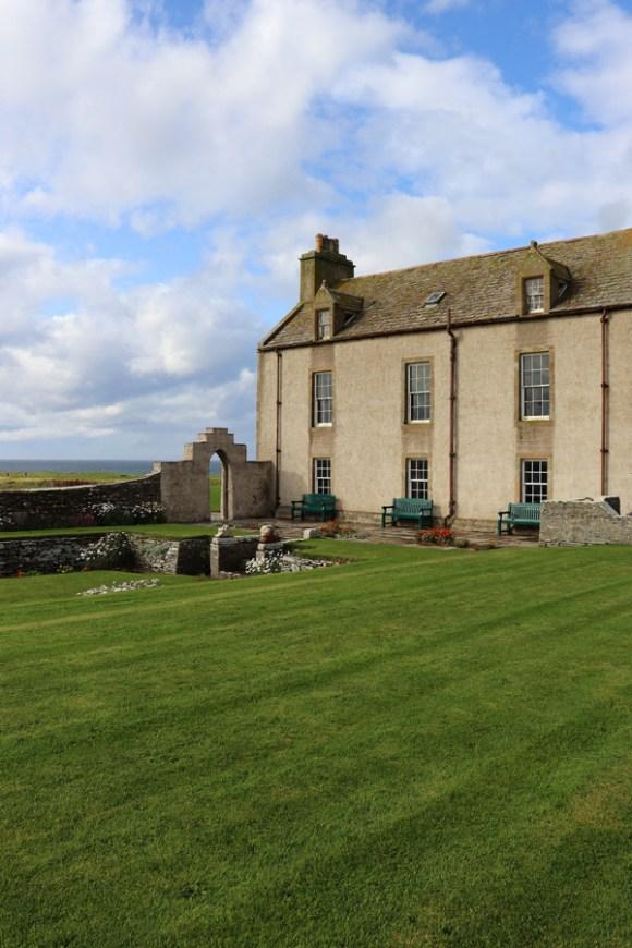 Skaill House Orkney Island Scotland Garden Front © Lavender's Blue Stuart Blakley