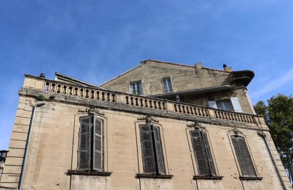 Town Centre Avignon © Lavender's Blue Stuart Blakley