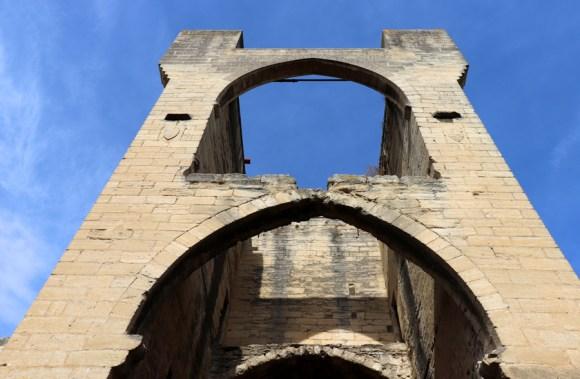 Wall Ruins Avignon © Lavender's Blue Stuart Blakley