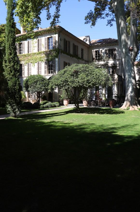 Garden View La Divine Comedie Avignon © Lavender's Blue Stuart Blakley