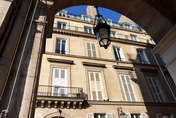 Rue de Rivoli Archway Paris © Lavender's Blue Stuart Blakley