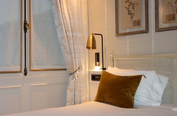 St Paul Hotel Charles V Bed Paris © Lavender's Blue Stuart Blakley