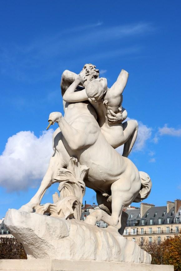 Jardin des Tuileries Statue Paris © Lavender's Blue Stuart Blakley