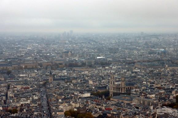 Montparnasse Tower View Paris © Lavender's Blue Stuart Blakley
