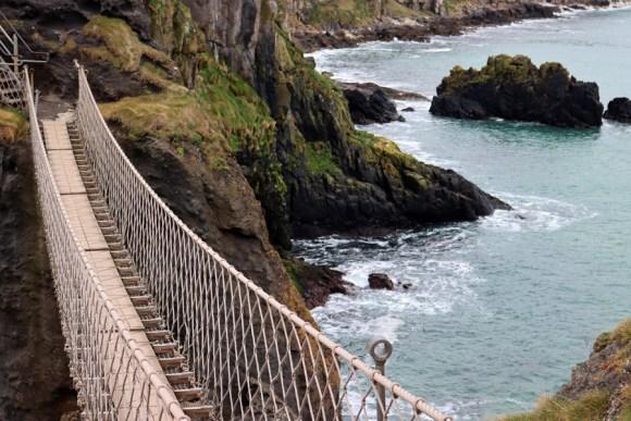 Carrick-a-Rede Rope Bridge Northern Ireland © Lavender's Blue Stuart Blakley