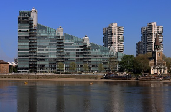 Thames View Montevetro Battersea London © Lavender's Blue Stuart Blakley