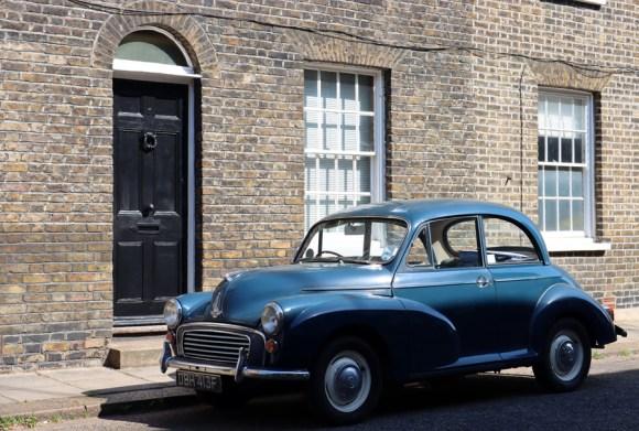 Roupell Street Conservation Area Waterloo London House © Lavender's Blue Stuart Blakley