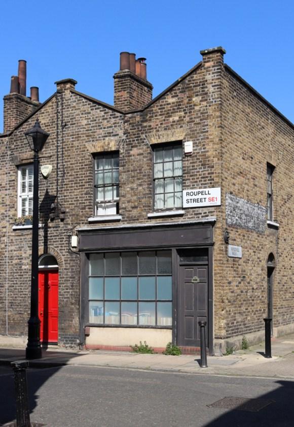 Roupell Street Conservation Area Waterloo London Shopfront © Lavender's Blue Stuart Blakley