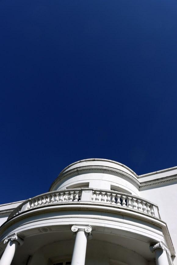 Belair House West Dulwich London Ionic Column © Lavender's Blue Stuart Blakley