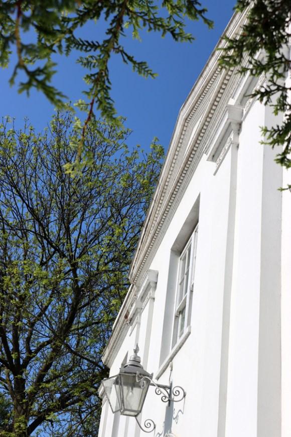 Belair House West Dulwich London Pediment © Lavender's Blue Stuart Blakley