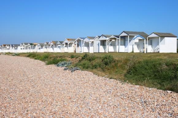 Cooden Beach Huts Sussex © Lavender's Blue Stuart Blakley