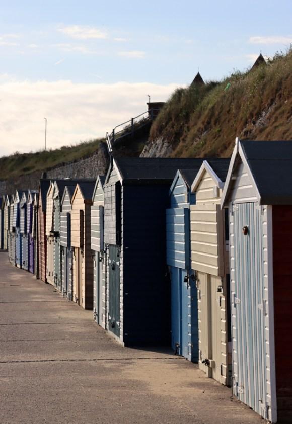 Beach Huts Westbrook Bay Beach Margate Kent © Lavender's Blue Stuart Blakley