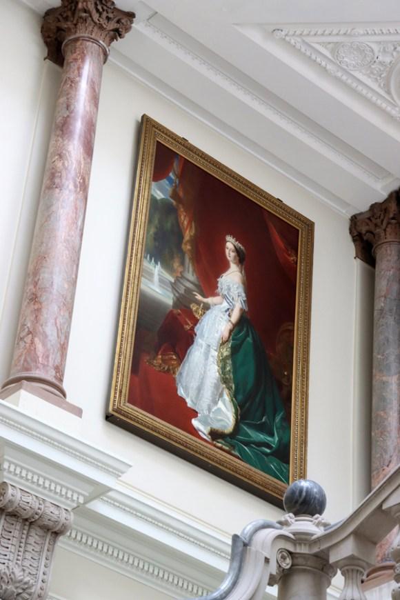 Empress Eugenie Muses' Stair The Foreign and Commonwealth Office London © Lavender's Blue Stuart Blakley
